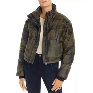 New Bagatelle NYC Camo Bomber Coat Small N…